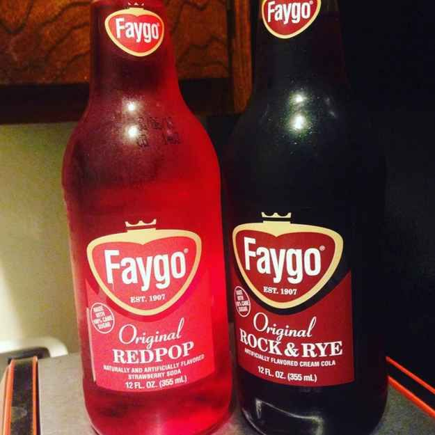 The best Faygo flavors are Rock