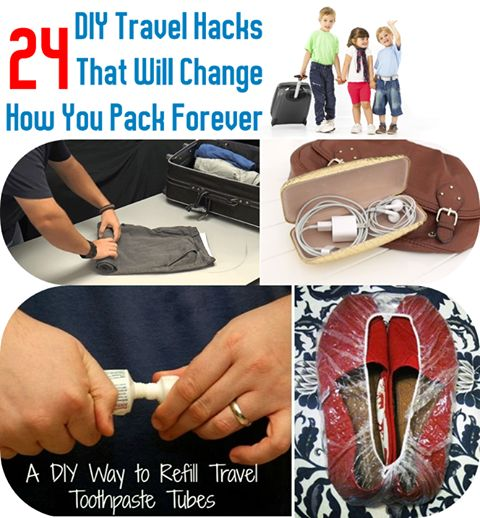 DIY Traveling Hacks That Will Change How You Pack Forever