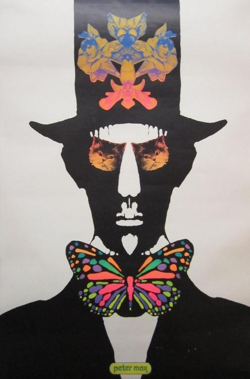 Peter Max - Top Cat 1967