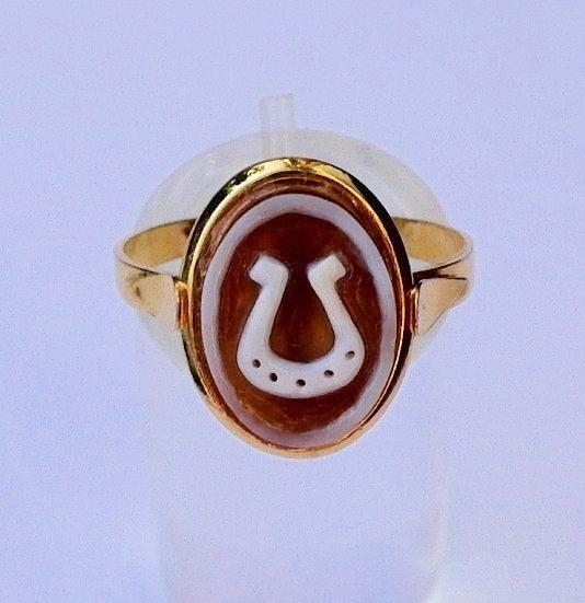 Vintage Camee ring maat 17 925 zilveren ring door wwwjewelqueennl