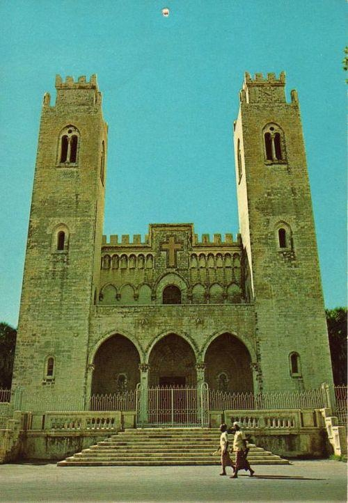 A cathedral in Mogadishu, Somalia before the war