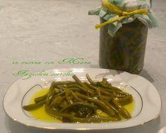 Fagiolini sottolio,ricetta conserva