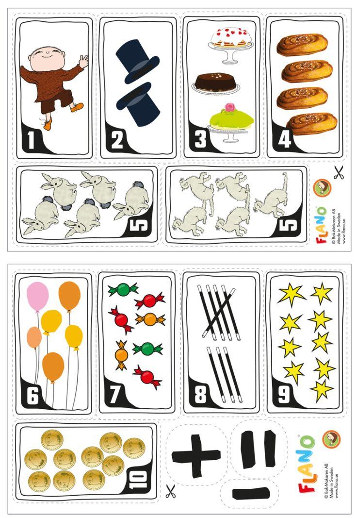 Vilka tiokompisar hör ihop? Trolla, trixa, räkna och para ihop två tal som tillsammans bildar det magiska talet 10. Ett rolig mattelek med 10-kamraterna.