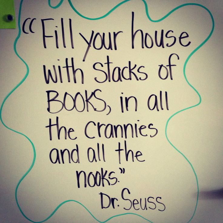 March is Reading Month!  I've been putting a Dr. Seuss quote on my classroom board to start every day with.