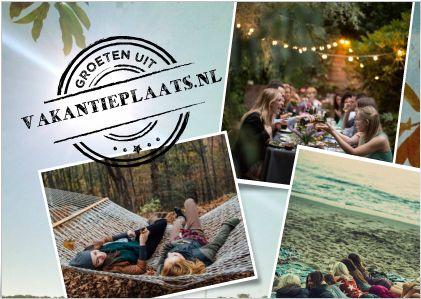 www.vakantieplaats.nl  Vraag & Aanbod Gratis adverteren  Vakantiehuizen| B&B| Chalets Caravans| Campers| Vouwwagens Campings & Glampings Rondreizen en nog veel meer...