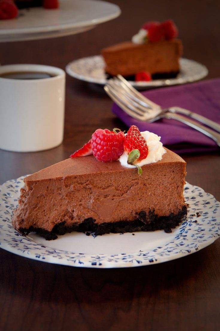 Chocolate Velvet Cheesecake