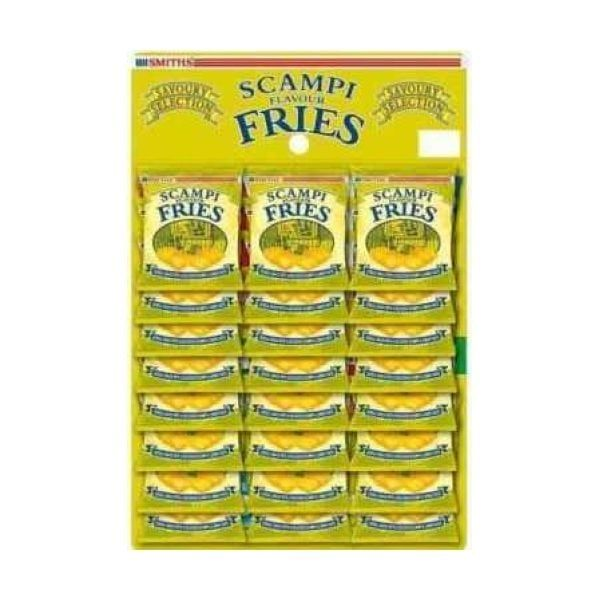 Smiths Scampi Fries 24X27G