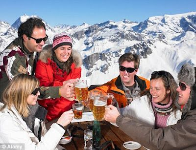 Free alcohol* with Crystal Ski holidays