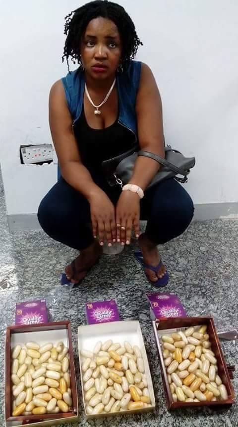 'Fulani Herdswoman' Arrested At Lagos Airport With Kilos Of Cocaine. Abi No Be So?