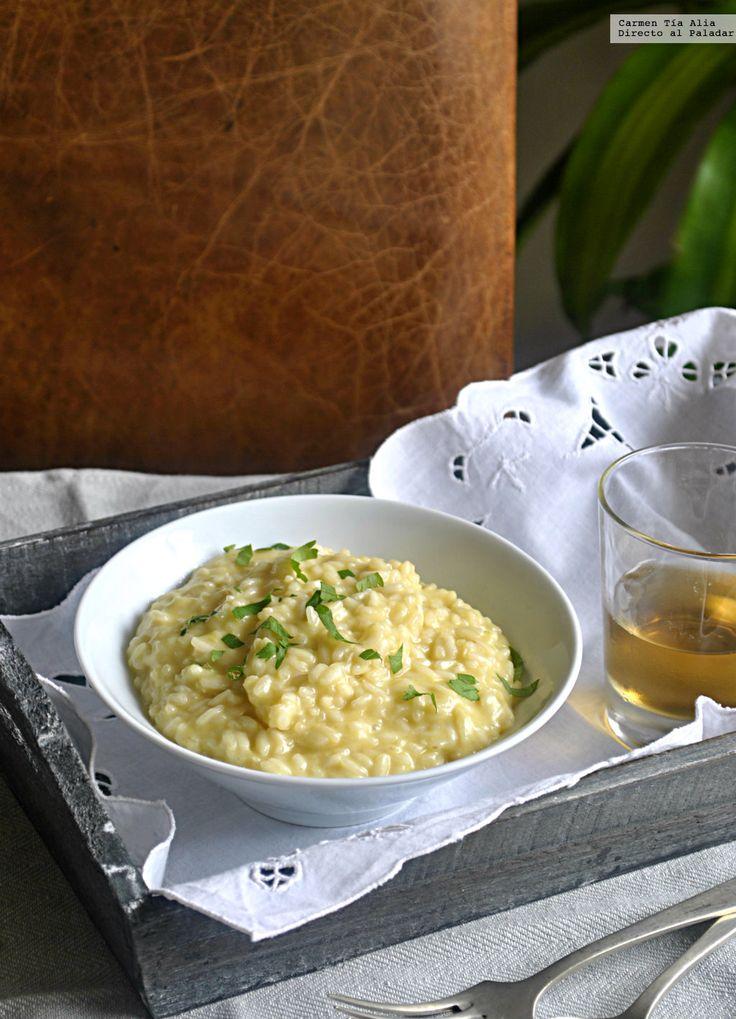 Te explicamos paso a paso, de manera sencilla, cómo hacer la receta de risotto de queso Cheddar. Tiempo de elaboración, ingredientes,