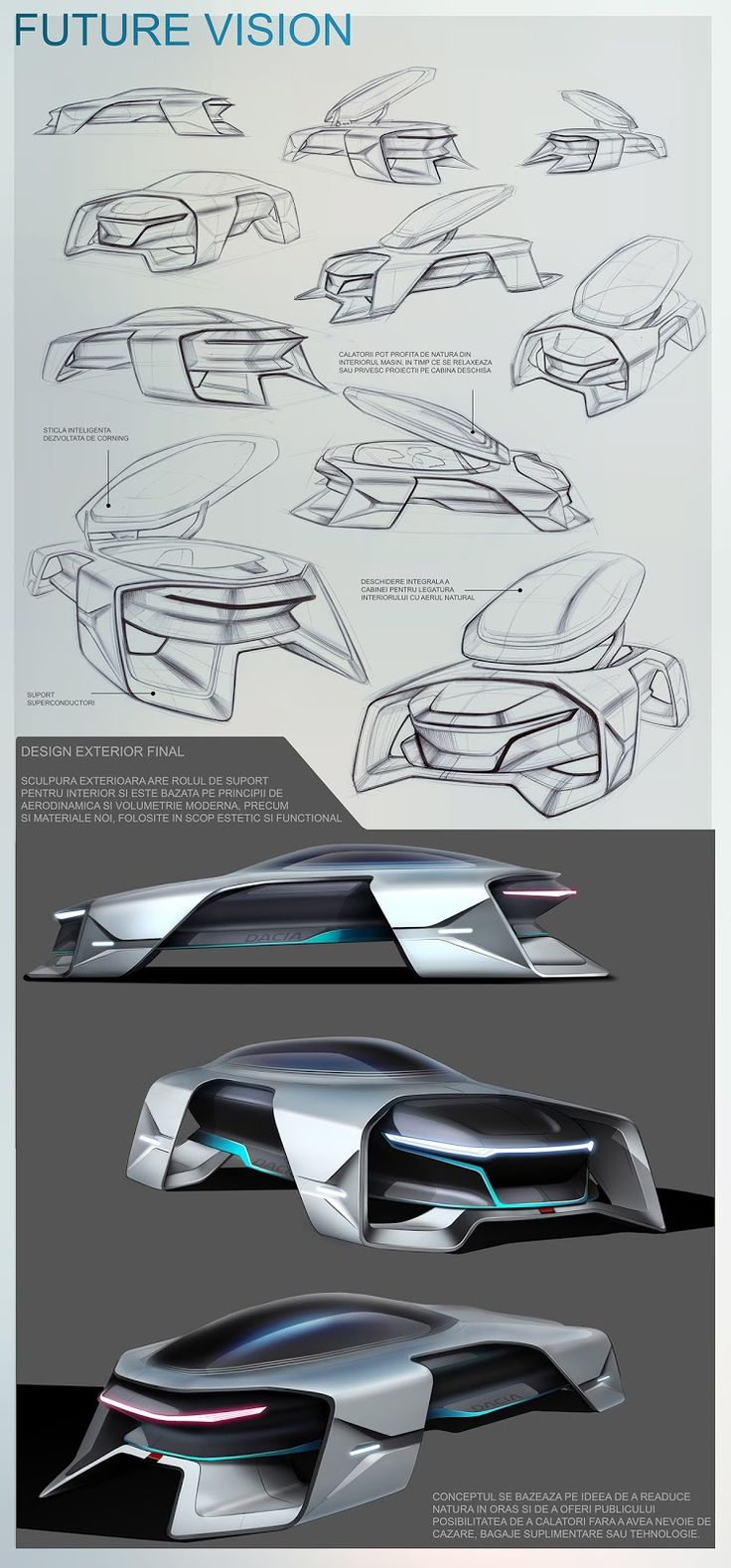 The aim of this diploma venture was to create an entire idea automobile for the fu…