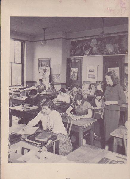 Kingston High School, 1953