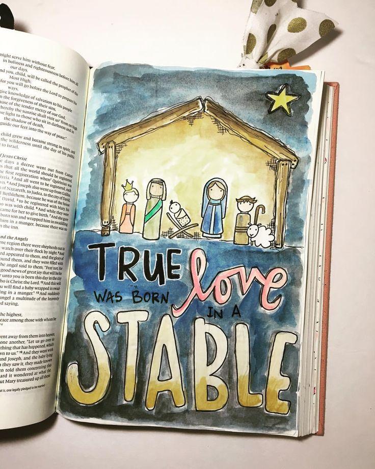 Bible Journaling by @magmagandme