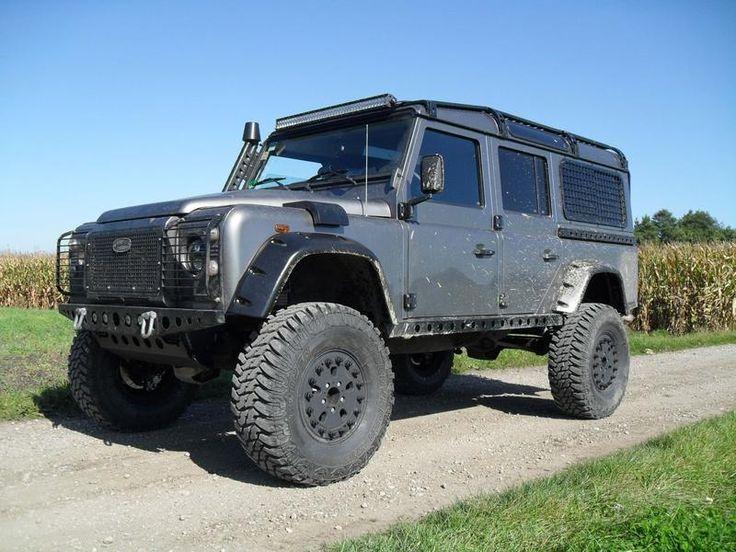 Defender Tdi 110 2009 315 75r16 Tires Hutchinson Wheels