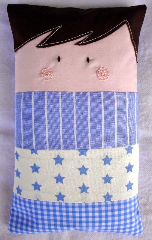 saco térmico de cereais e alfazema para crianças em www.cestodaroupa.blogspot.com
