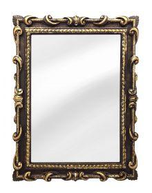 Зеркало Римское в резном багете Венге Золото Поталь
