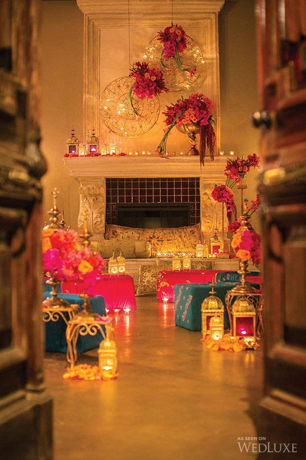 WedLuxe– Casablanca Night | Photography by: Sweet Pea Photography Follow @WedLuxe for more wedding inspiration!