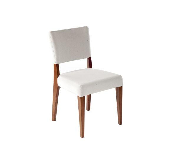 CADEIRA MUSA LISA | 48X54X88H - design selecionado - Cadeira estofada com estrutura em madeira maciça Jequitibá.