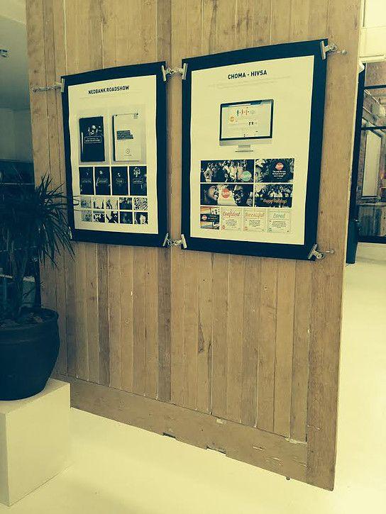 Large barn doors to display latest award winning cReative.