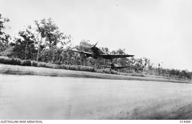 Port Darwin, northern Australian, has been bombed: Japanese planes & Zero fighters struck town, wrecking airstrip.