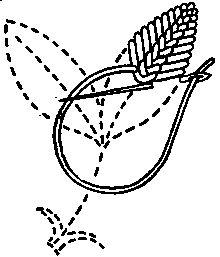 vocabulario 3.Variación de la puntada de creta./ Maria L.Bertolino/ www.pinterest.com...