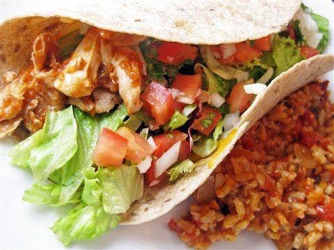 """Mexicaanse Burritos met Chipotle, Kaas, Tomaten, Kip Recept"" ""Mario's S...  https://www.youtube.com/user/MaharajaXpress"