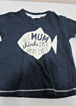 Kupuj mé předměty na #vinted http://www.vinted.cz/deti/kalhoty/12186534-hezke-tricko-pro-miminko-my-mum-thinks-im-a-great-catch