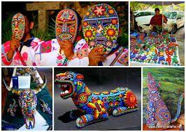 Resultado de imagen para collage de artesanias mexicanas