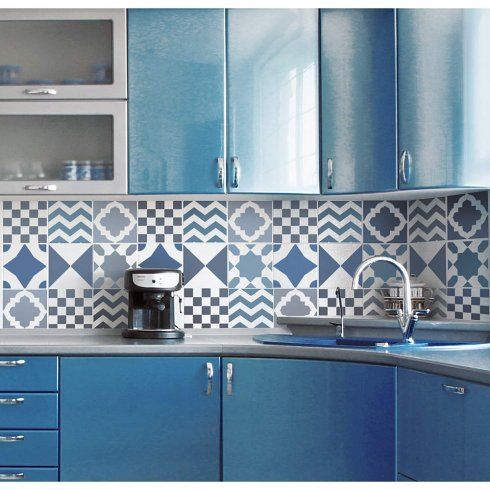 popular geometric pattern tile designs into one versatile geometric