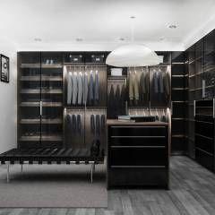 Zona El: Vestidores y closets de estilo moderno por Espacio Lavanda