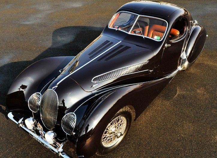 A 1938 Talbot-Lago.