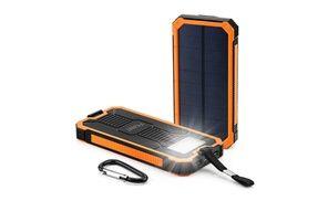 Groupon - 15000mAh Outdoor Solar Cell Phone Power Bank. Groupon deal price: $15.99