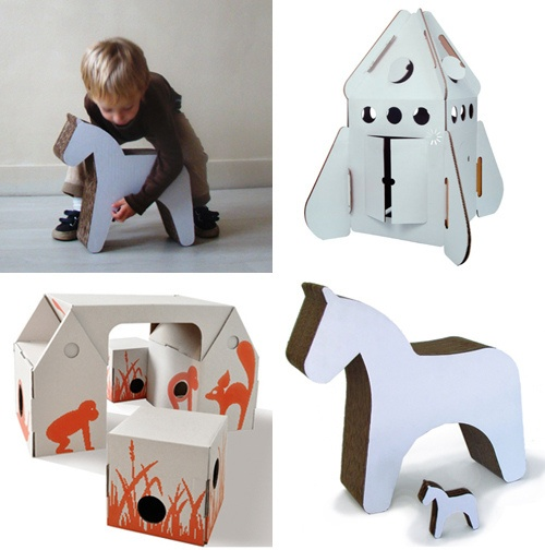 kidsonroof products by the style files, via FlickrRecycle Ideas, Kids Kingdom, For Kids, Kids Room, Cardboard Toys, Kidsonroof Sales, 02 Toys Gam, Kidsonroof Products, Style File