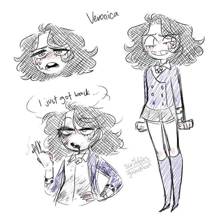Veronica- art by Spibbles/Tee Vee (Previously known as Galactibun) main art Tumblr is Bunpoop (idk what the hell they even want to be called anymore)
