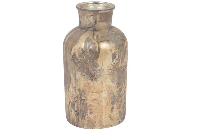 Vaso Bottiglia Petrol D9 H17 cm