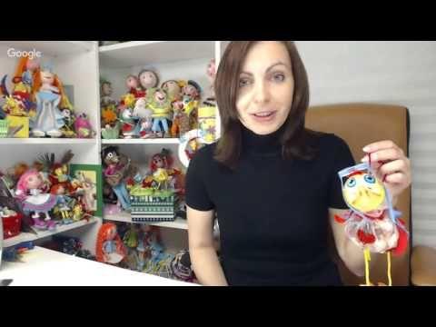 Куклы и игрушки: секреты рукоделия. День 9. Евгения Романова - YouTube