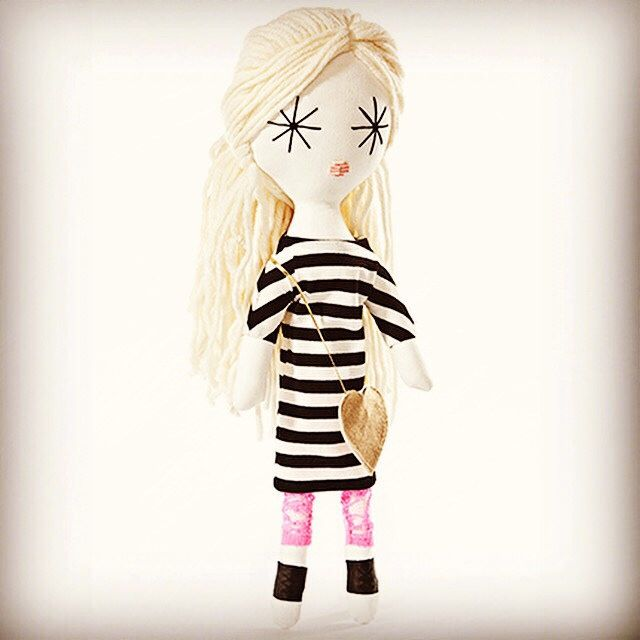 Laloushka hand made in Europe!!! The best dressed doll in the town:) www.laloushka.pl