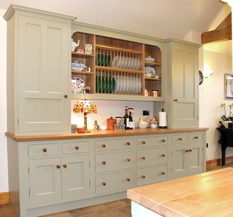 17 best images about plate rack on pinterest traditional for Fitted kitchen dresser unit