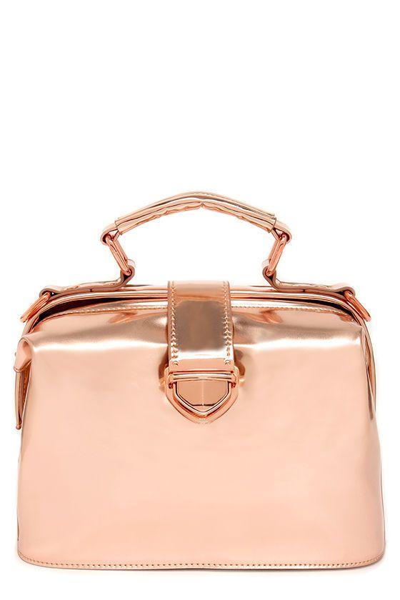 Mystique of Nature Rose Gold Bag at Lulus.com!