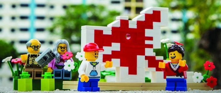 W Singapurze dzieci projektują miasto przyszłości. Wszystko z klocków Lego.