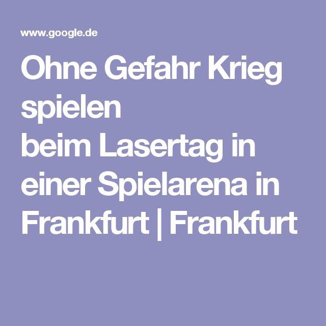 Ohne Gefahr Krieg spielen beimLasertag in einer Spielarena in Frankfurt   Frankfurt