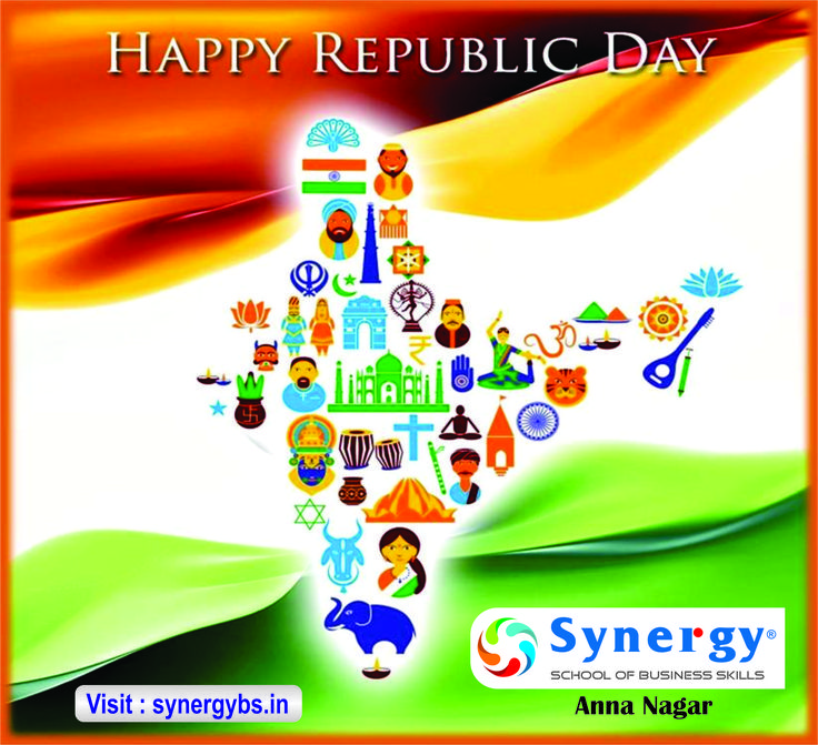 Happy Republic Day from Synergy - School of Business Skills