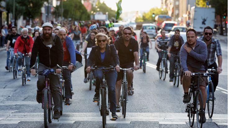 Andare in #bicicletta ci fa stare bene