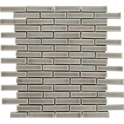 Ms International Dove Gray Brick 12 In X 12 In X 8 Mm