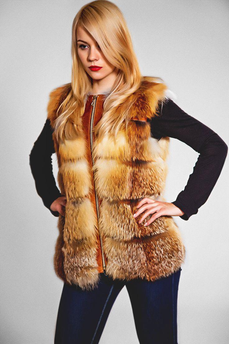 Жилет (артикул: 300/3190) #pinterest #jacket #fur