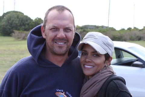 Halle Berry and Mike Rutzen