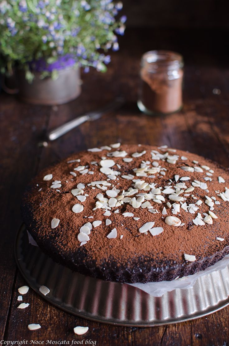 Torta Matta senza lievito torta al cioccolato food photography