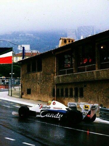 Ayrton Senna, Toleman-Hart, Monaco, 1984. #Legend #F1