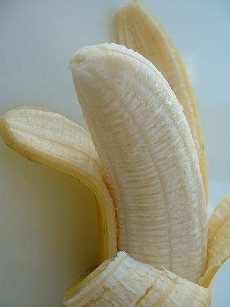 Mascarilla hidratante de banana para el cabello seco