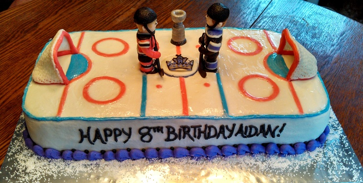 15 Best Images About Hockey Birthday Party On Pinterest